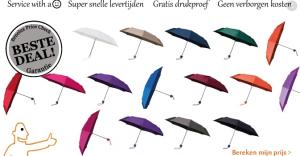 bedrukte paraplu's voor uw promotie doeleinden. en bescherming van uw connecties en relaties tegen de regen.