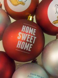 kerstballen bedrukken rood